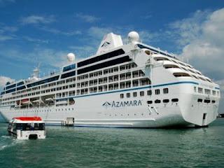 MZ Azamara Quest terbakar,kapal persiaran mewah Azamara Quest