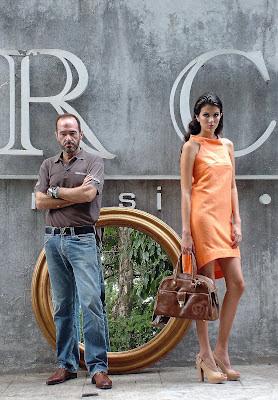 Chema Luceño y su modelo