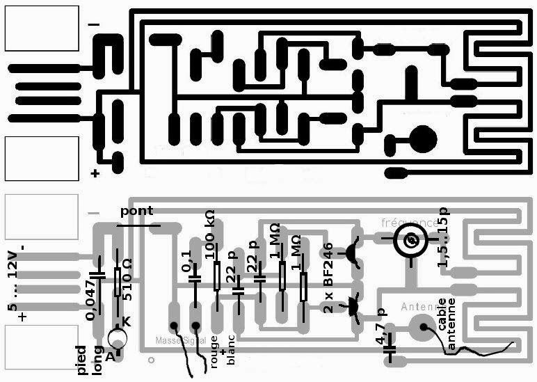 inventos electronicos  circuito transmisor de fm para pc
