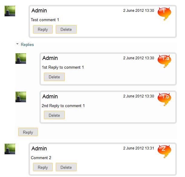 comments blog: