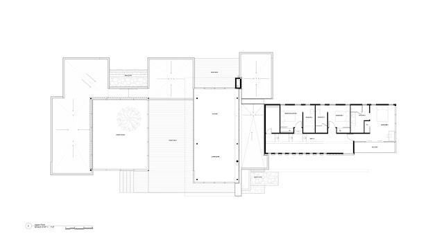 Clearview Residence upper floor floor plan