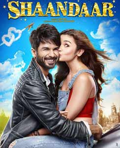 Shaandaar Hindi Movie Poster 2015