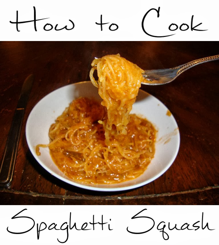 3 mommies: How to Cook Spaghetti Squash