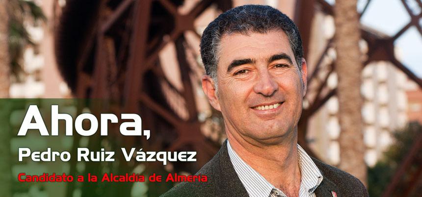 Ahora Pedro Ruíz Vázquez