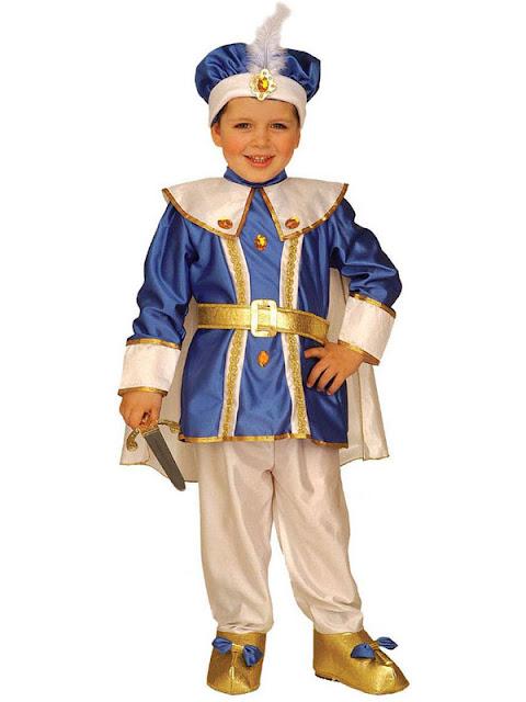 Prinse kostume til fastelavn