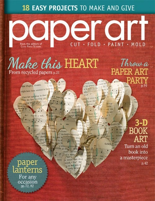 Paper Art Magazine via Knick of Time