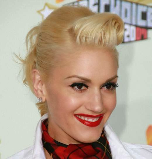 Gwen Stefani Short Celebrity Hairstyles