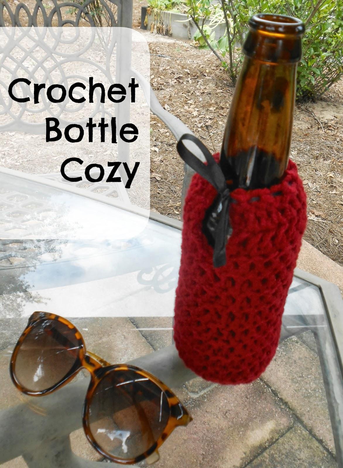 Beyond the Cookie Cutter: Crochet Bottle Cozy