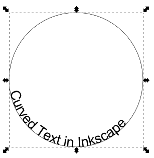 ... Tutor Graphic Design Blog: Curved Text in Inkscape - Text on Path