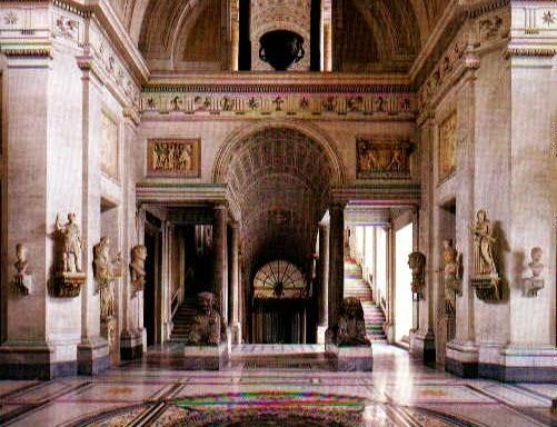 Museu Pio Clementino no Vaticano