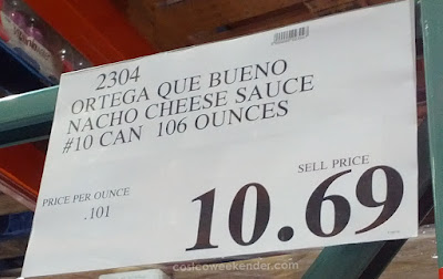 Deal for 106 oz can of Que Bueno Nacho Cheese at Costco
