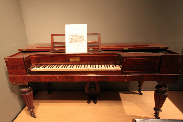 Piano can only found in the wealthy family's house at National Museum of American History in Washington DC, USA
