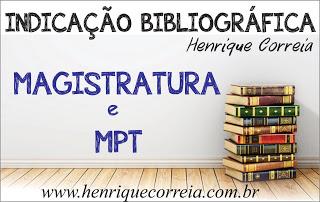 Indicação - Magistratura e MPT