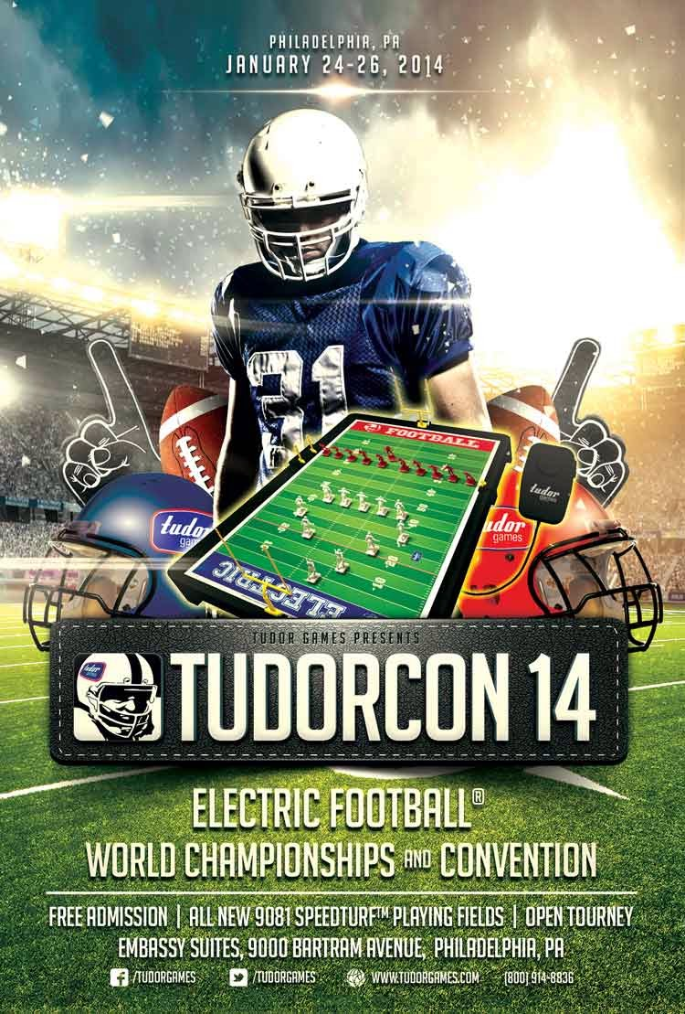 The gateway to philadelphia feel the buzz at tudorcon for Tudor games coupon code