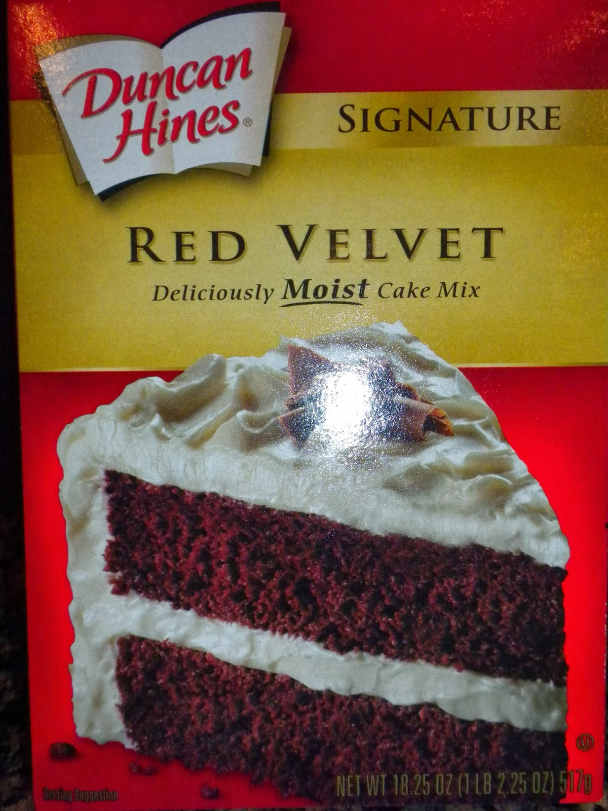 Duncan Hines Red Velvet Cake Mix as seen on Substance of Living