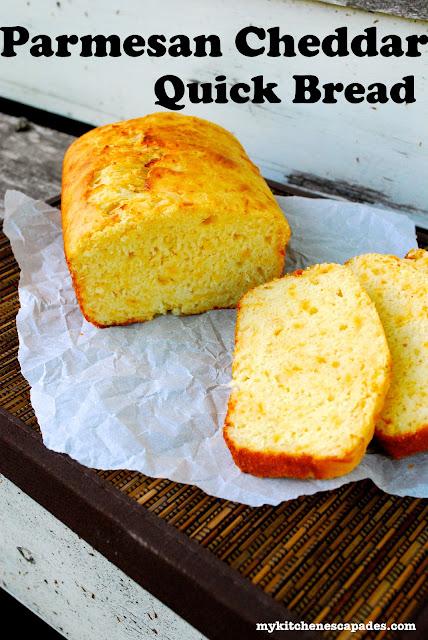 Parmesan Cheddar Quick Bread