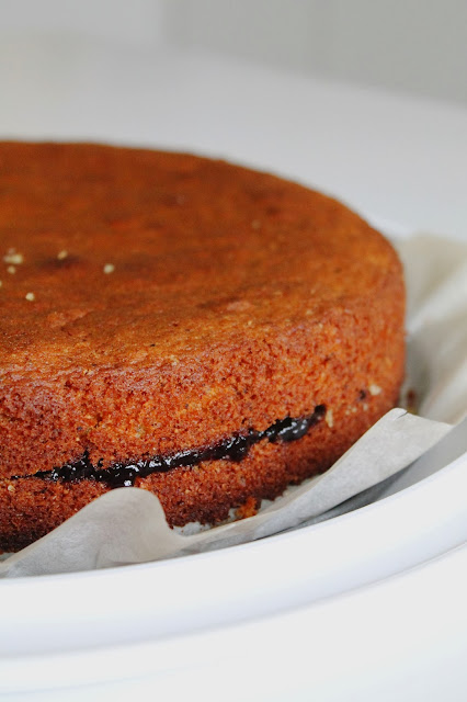 torta trentina: grano saraceno e mirtilli neri
