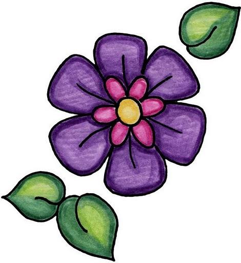 Imagenes de flores y mariposas - Imagenes y dibujos para imprimir-Todo ...