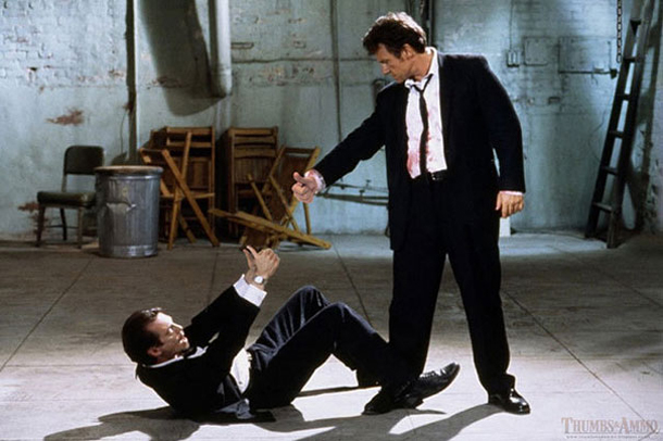 Thumbs and Ammo - Reservoir Dogs - Steve Buscemi e Harvey Keitel