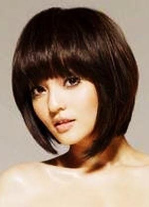 Model Potongan Rambut Sebahu