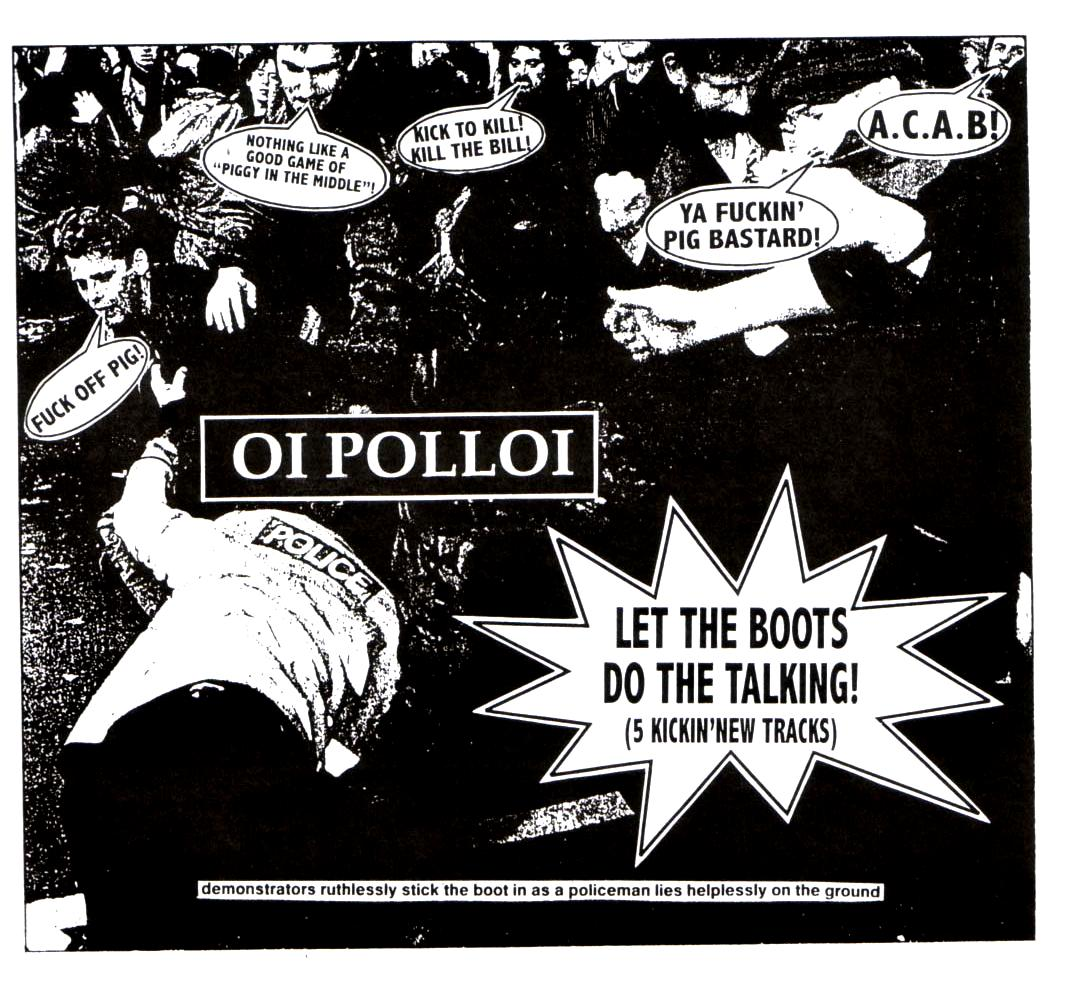 hardcore punk: OI POLLOI - Let The Boots Do The Talking EP ...