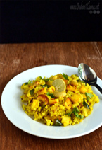 Paneer Kanda Poha Recipe