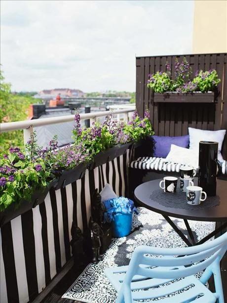 Green Grass: Balcone o terrazzo: qualche idea in vista della primavera