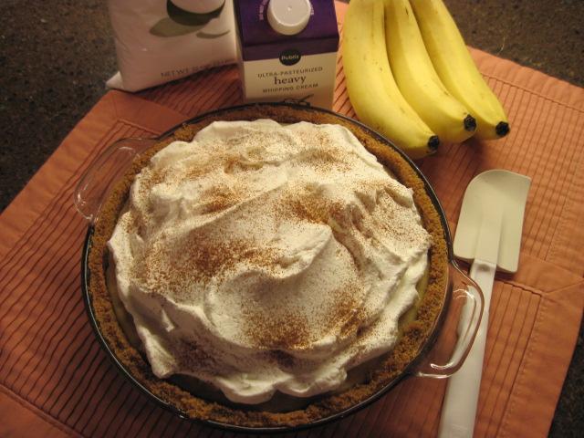 ... Polish Kitchen: Bananas Foster Cream Pie -- My Latest! It's a Winner