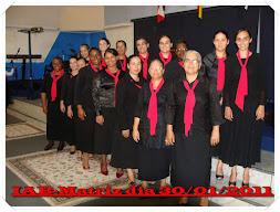 Grupo de louvor feminino
