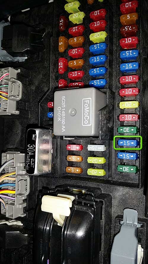 fix ford sync fuse number 3 k1dblitz ramblings of a gamer how to fix your ford sync 2015 mustang fuse box location at gsmportal.co