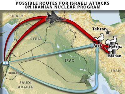 Israele e Iran (informarmy.com)