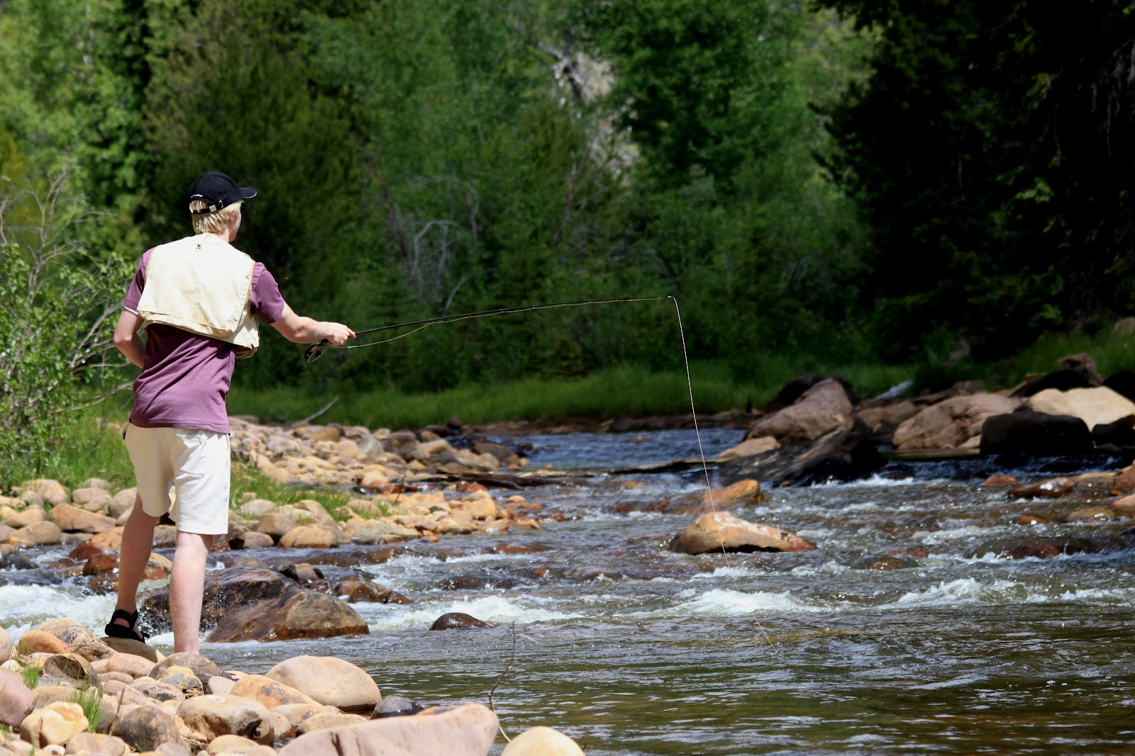 River tales rock creek round ii for Rock creek fishing