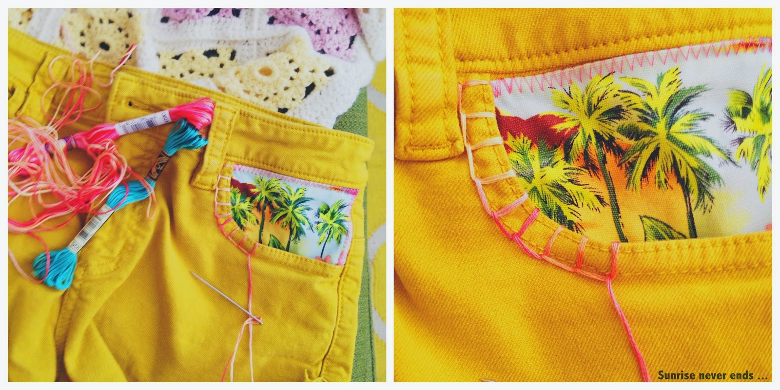 diy,bensimon,short,a beachy life, customisation,indian summer