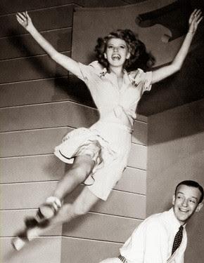 Rita, su salto, su valentia, su alegría...su decisión .