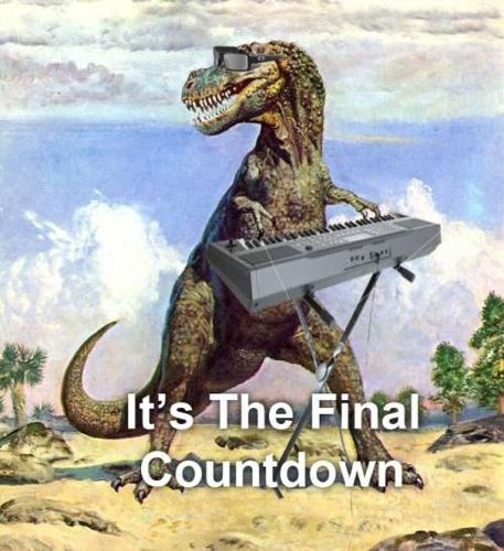 It's The Final Countdown - Dinosaur