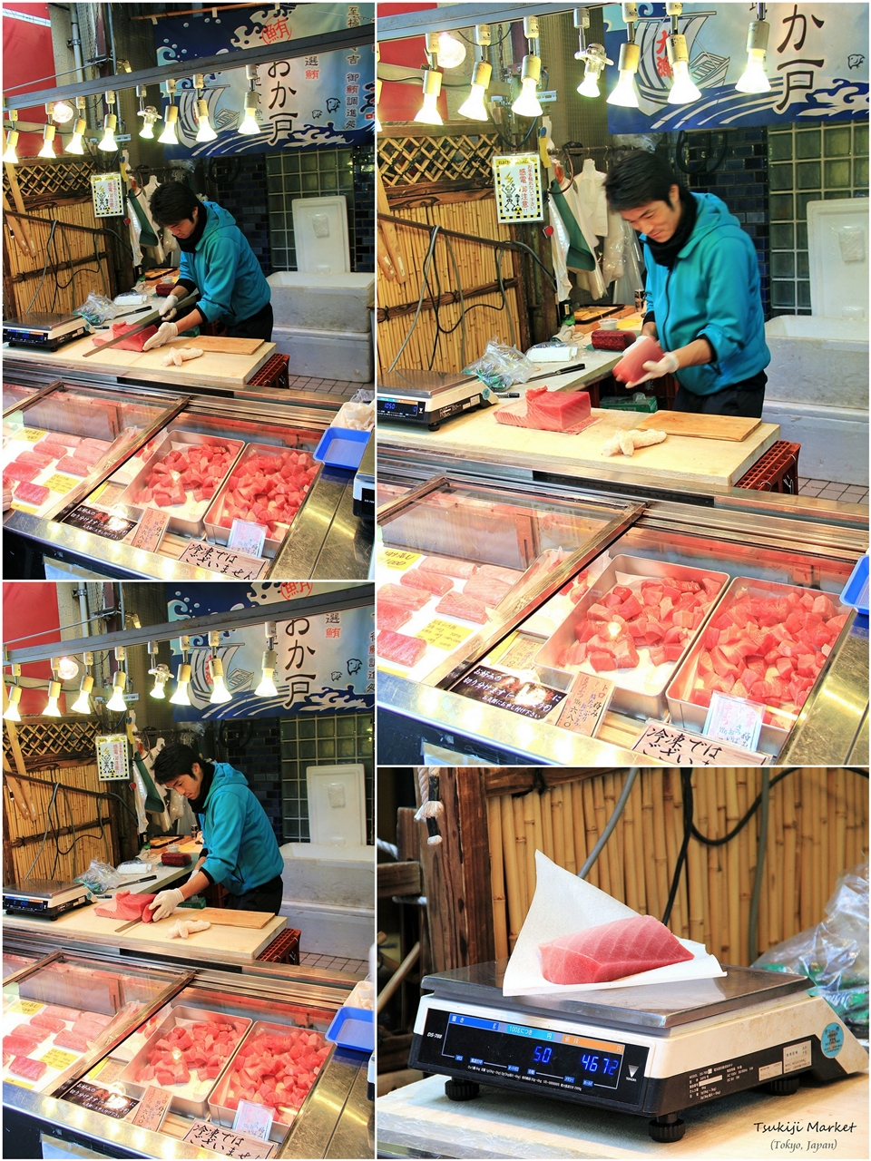 Cuisine paradise eat shop and travel day 5 tsukiji for Tokyo fish market