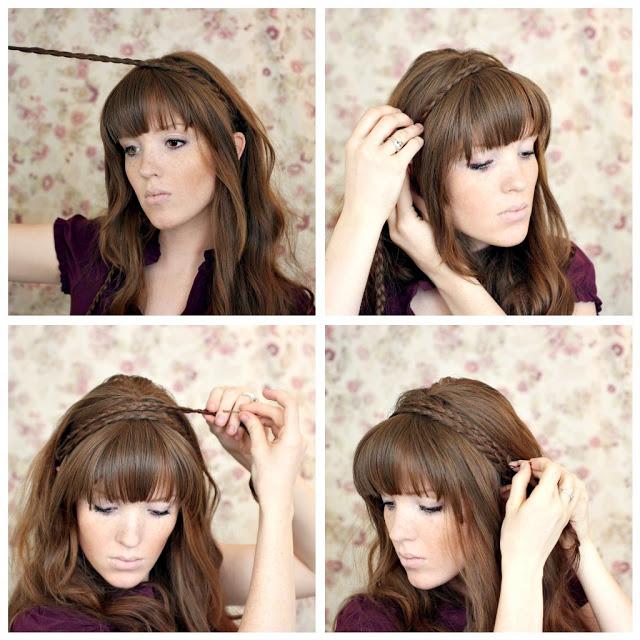 ... Tutorial Hairstyle Artist - Cara Kepang 4 Untai Pinback Hairstyles