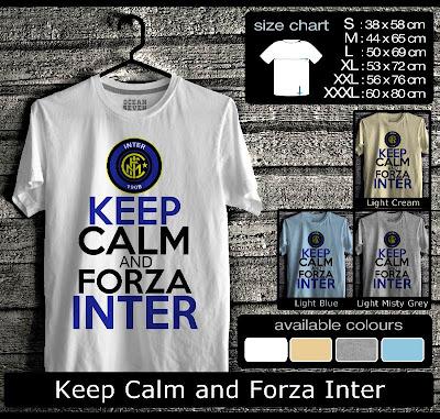 kaos distro keep calm and forza inter