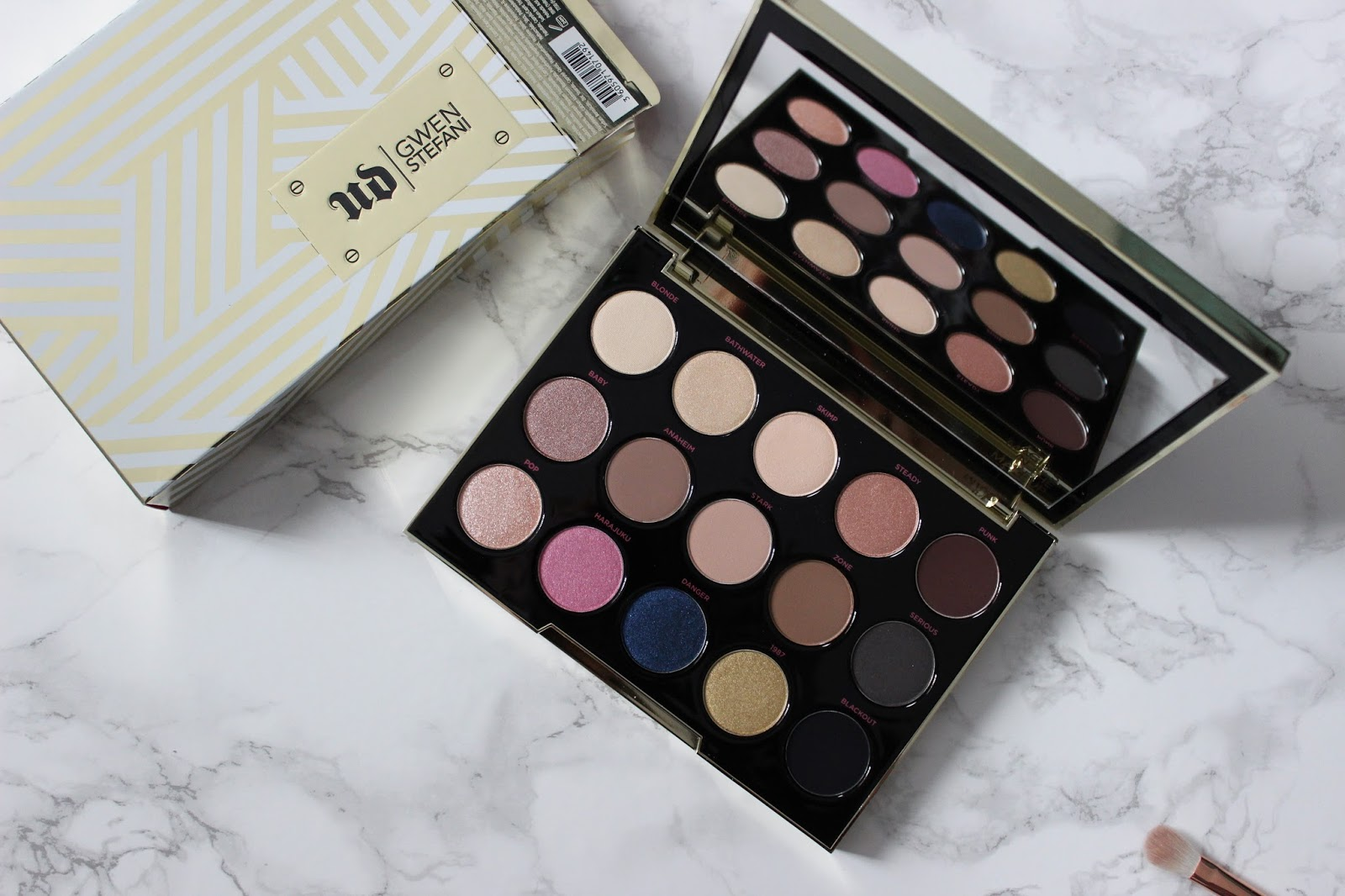 Gwen Stefani x Urban Decay palette review
