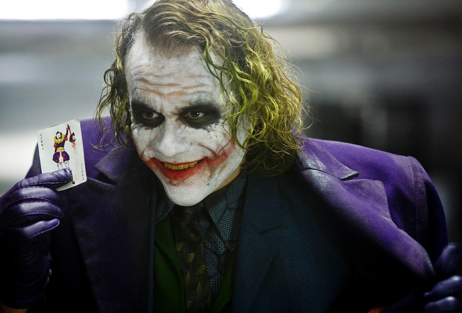【速報】新しいバットマンのジョーカー役の写真公開 ヒース・レジャー超えたか?