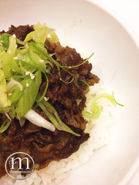 Yakiniku Beef Rice Topping Ramen Bar
