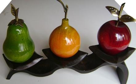 Mente creativa decoracion cocina en madera - Fruteros de cocina ...