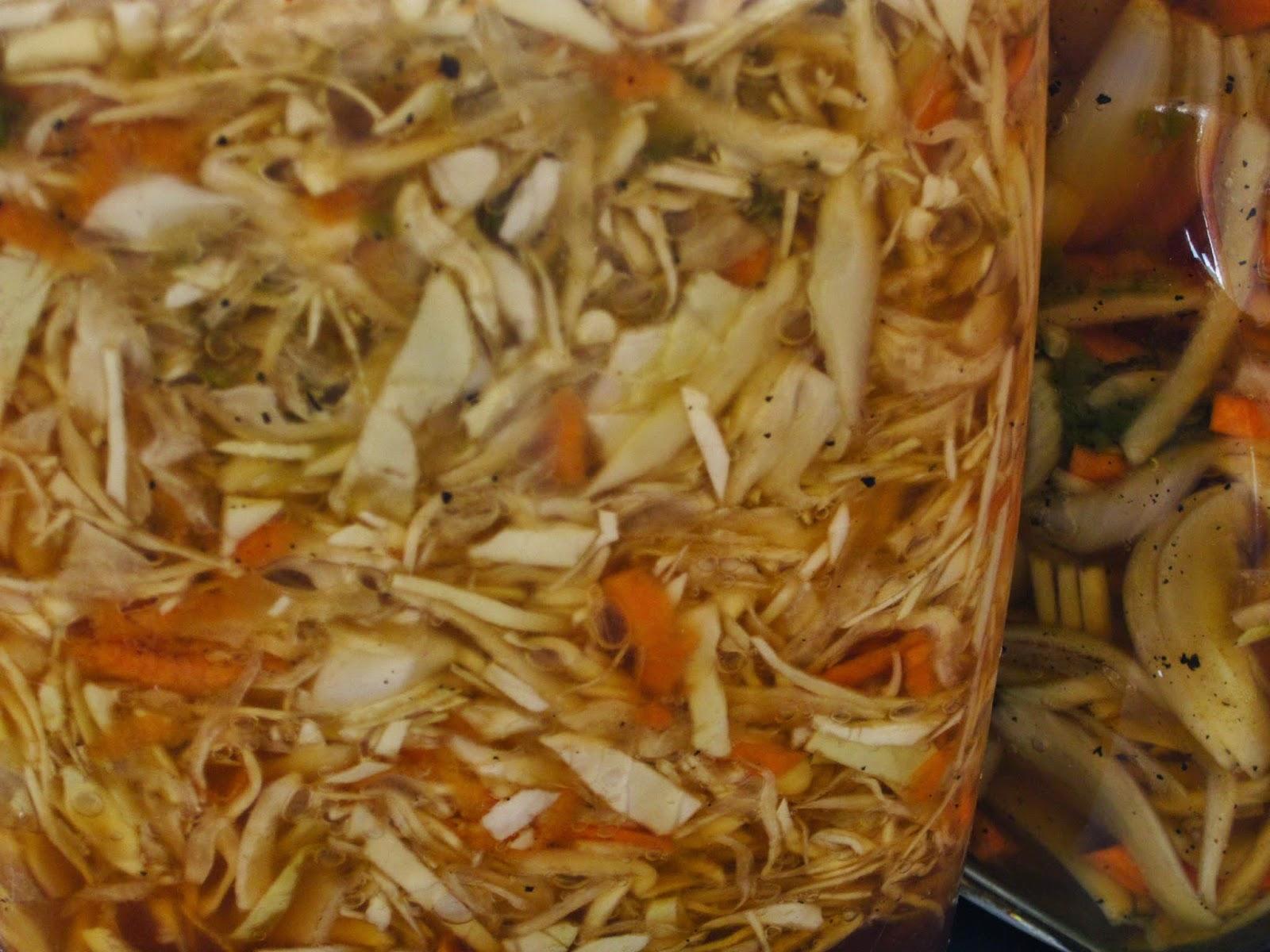 Repollo encurtido en vinagre - Encurtido de zanahoria ...