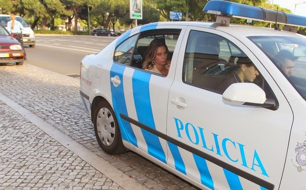Marianne Ranieri presa em Portugal