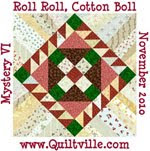 Roll roll cotton boll