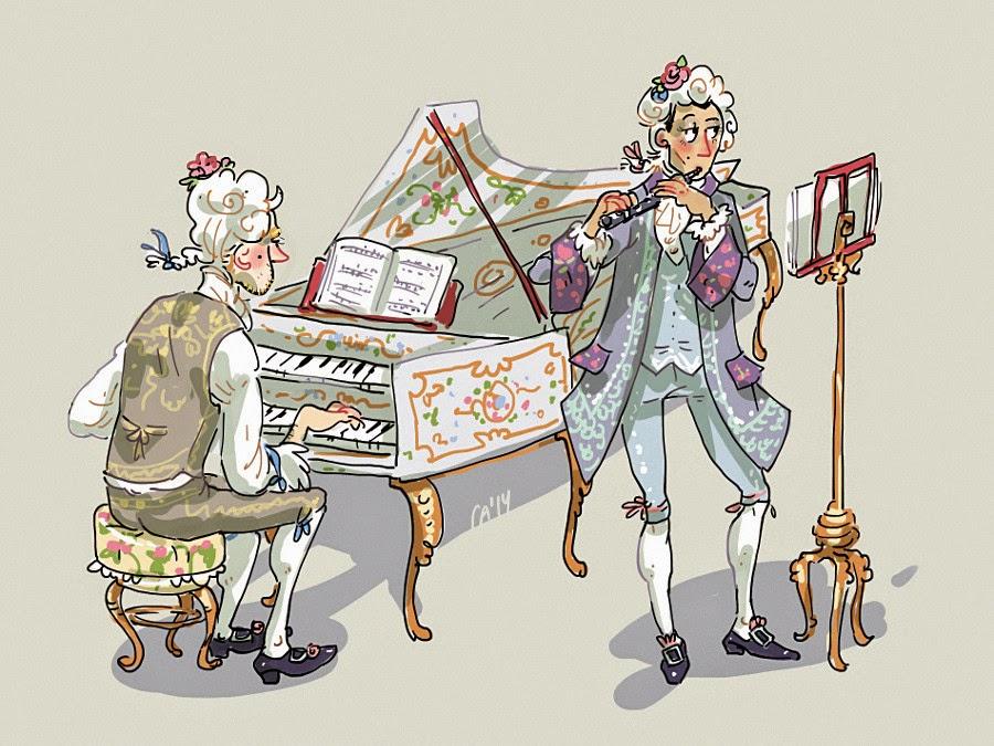 ian bloom donovan original charcters of kichaa notmusa marie antoinette pachelbel johann harpsichord