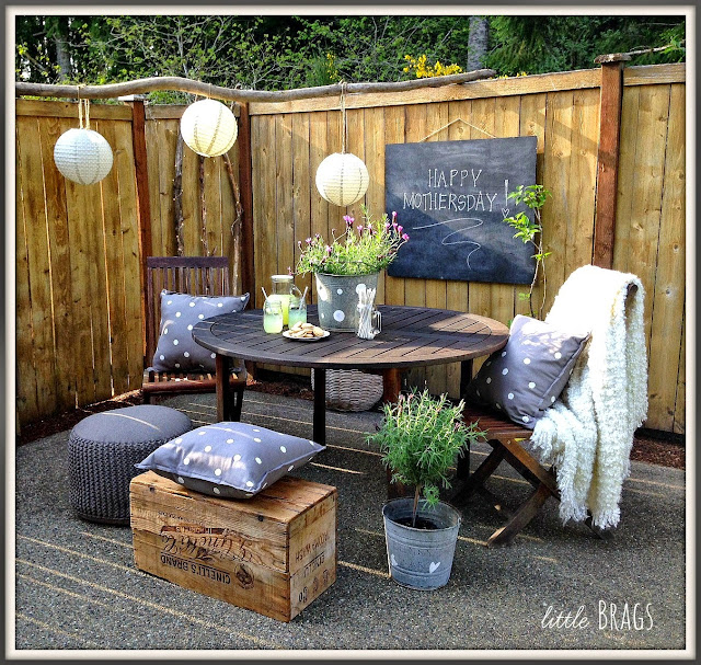 Mother's Day Patio Table