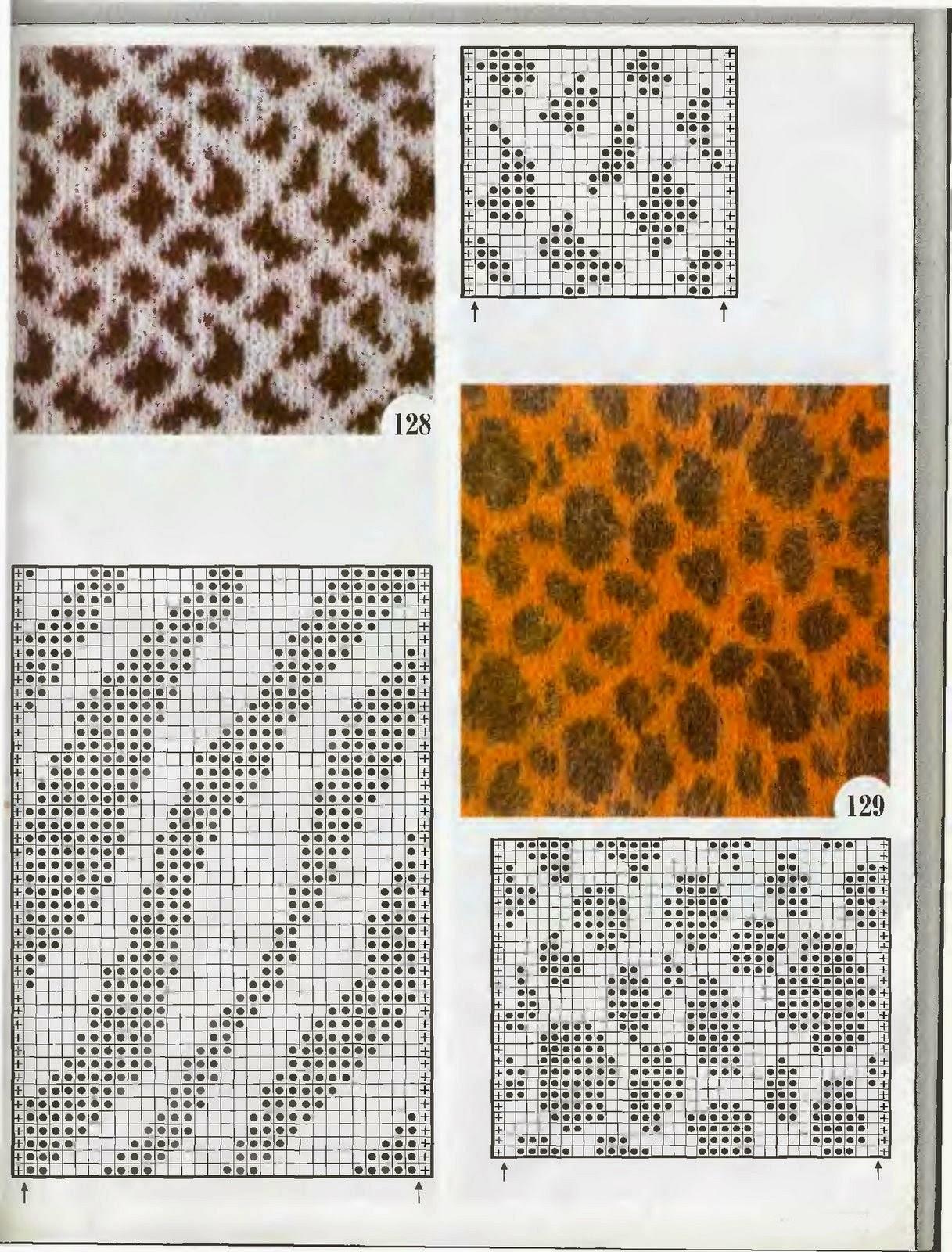 TEJIENDO A DOS AGUJAS: Animal Print en nuestros tejidos