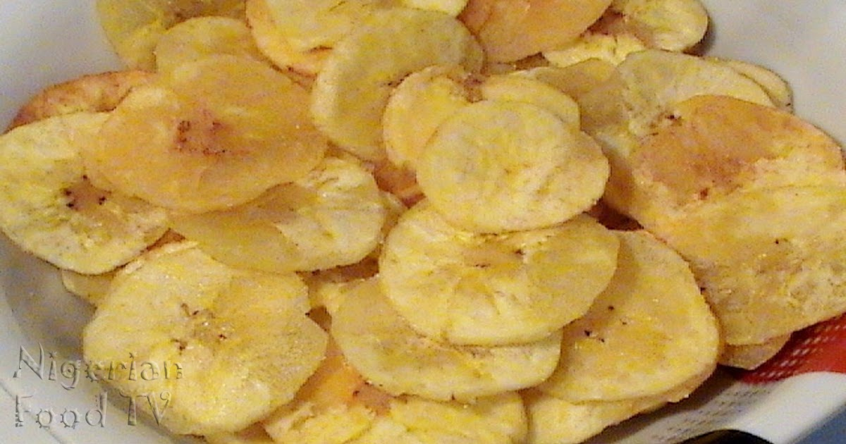 How To Make Plantain Chips At Home