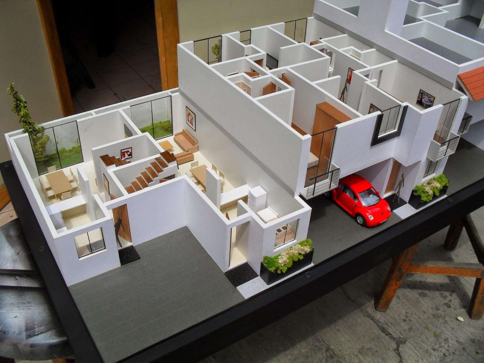 Maqueta de casa habitacion - Materiales para insonorizar una habitacion ...